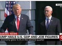 ترامپ درباره ارتباط ستاد انتخاباتی اش با روسیه پاسخ نداد