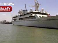 کشتی تفریحی صدام حسین به هتل دریانوردان تبدیل میشود +فیلم