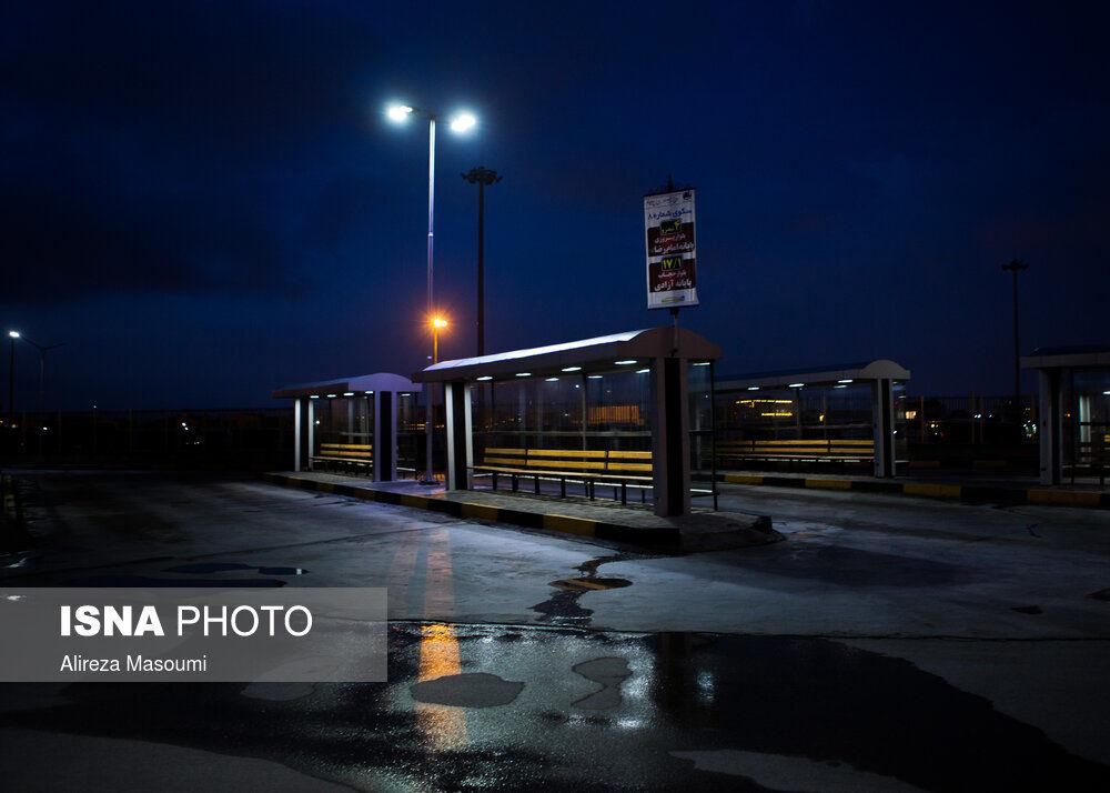 ایستگاه های اتوبوس
