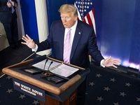 واکنش ترامپ به پرتاب ماهواره از سوی ایران