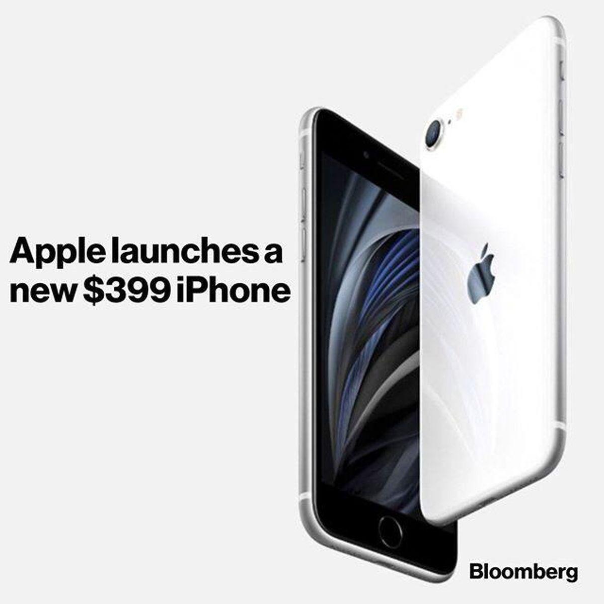 رونمایی از گوشی جدید و ارزان اپل + عکس
