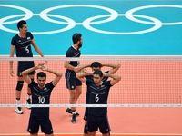 سومین باخت شاگردان لوزانو در والیبال المپیک