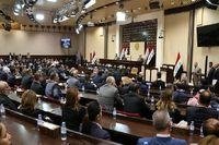 انحلال پارلمان عراق ۱۵مهر