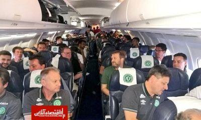 اعلام جزئیات سقوط هواپیمای بازیکنان برزیلی
