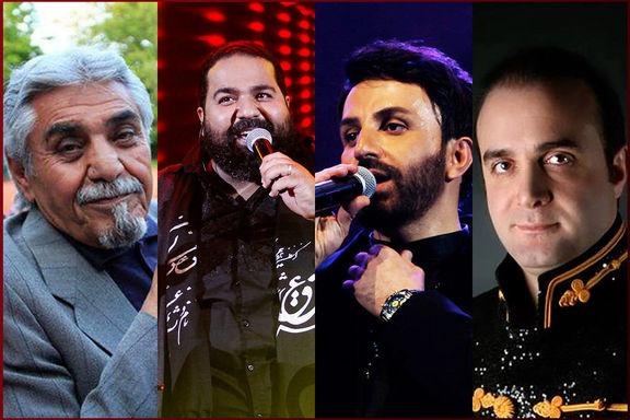 زندان در انتظار 3 خواننده مشهور؟ +عکس