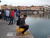 وضعیت پناهجویان کشورهای مختلف در یونان +تصاویر