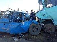 تصادف در لالی یک کشته برجای گذاشت