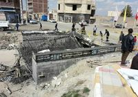 برخورد با پیمانکار و مجریان طرح پل ورودی مبارک شهر