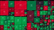 نقشه بورس امروز بر اساس ارزش معاملات/ اولین واکنش مثبت به اخبار انتخابات آمریکا بورس را سبزپوش کرد