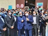 عبور راه آهن چابهار ـ زاهدان از مسیر ریل ذوب آهن اصفهان