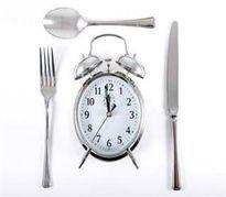 بهترین زمان برای غذا خوردن و لاغر شدن