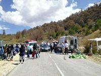 مرگ دانشجو در حادثه مینی بوس در دامغان