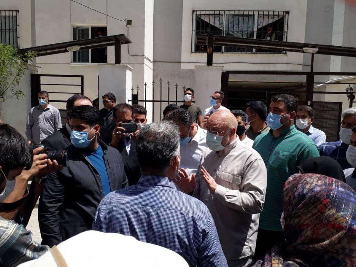 بازدید  قالیباف از مسکن مهر پردیس