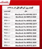 لپ تاپ اپل (مک بوک) چند؟ +جدول