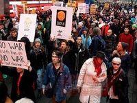 راهپیمایی مردم آمریکا در پی ترور سردار سلیمانی +عکس