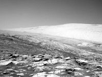 تصاویر جدید مریخ نورد ناسا منتشر شد