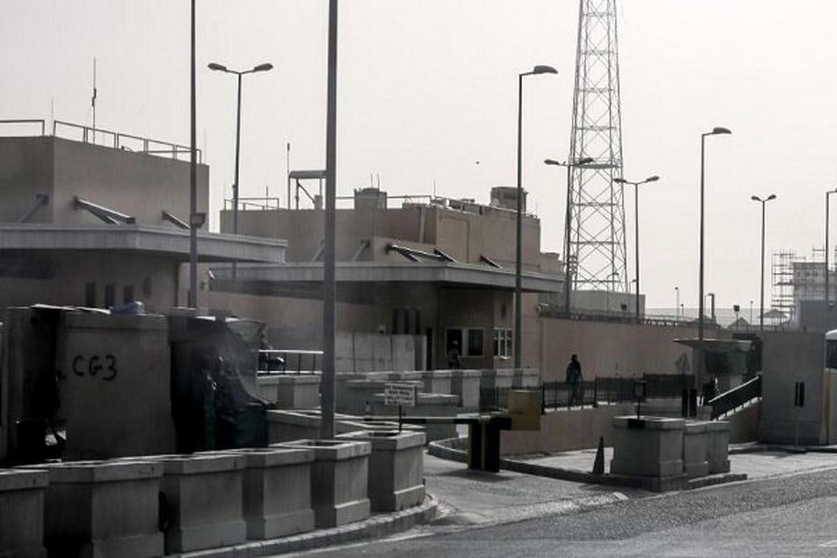 چند راکت به اطراف سفارت آمریکا در بغداد شلیک شد