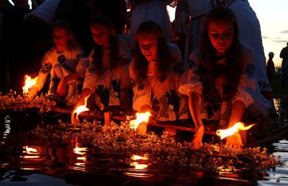چهارشنبه سوری به سبک اسلاوها