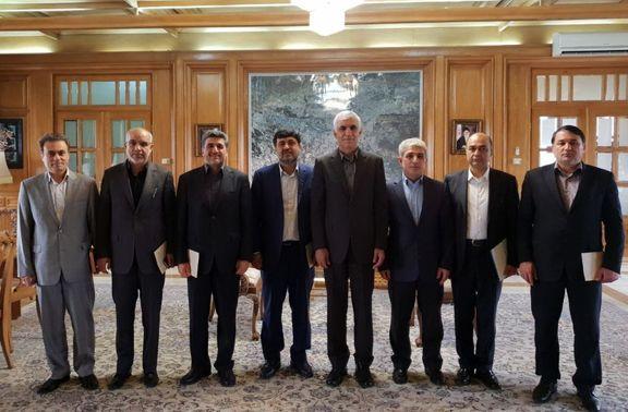 دیدار مدیر عامل بانک تجارت با شهردار تهران