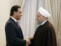 دیدار رییسمجلسملی پاکستان با روحانی +عکس