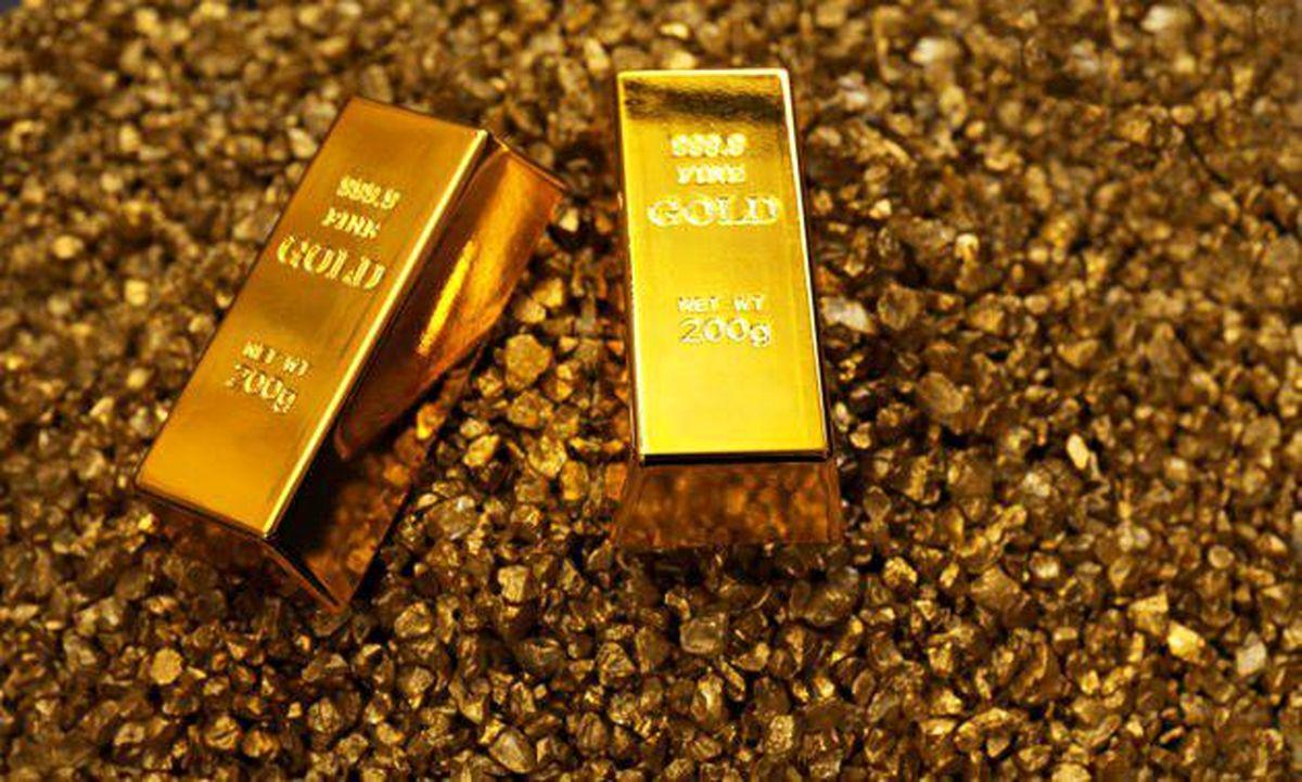 قیمت اونس طلا  کاهش یافت