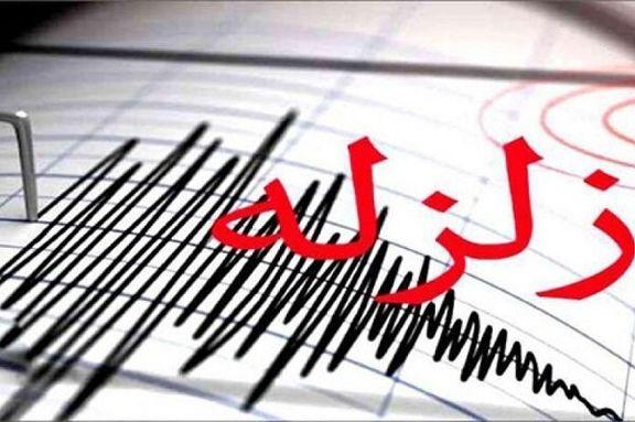 زلزله۴.۳ریشتری در مرز استانهای کرمانشاه و ایلام