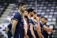 پیروزی تیم ملی والیبال ایران مقابل تایلند