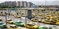توزیع مواد ضدعفونی کننده رایگان بین رانندگان تاکسی
