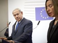 موگرینی سفر خود به فلسطین اشغالی را لغو کرد