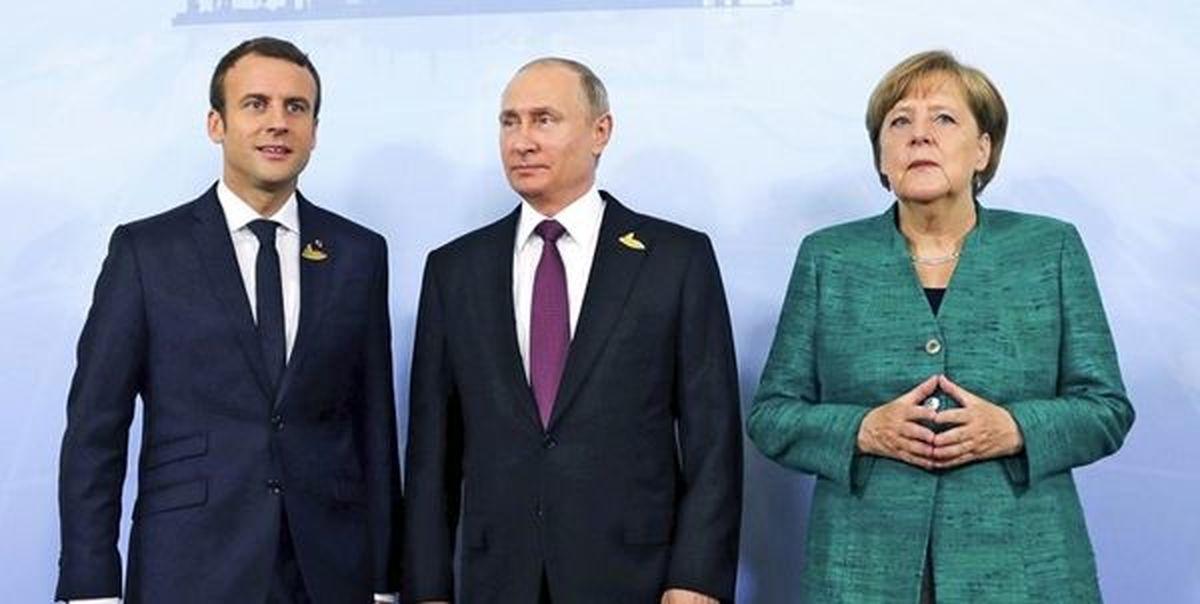 رایزنی فرانسه، آلمان و روسیه درباره بازگشت ایران به برجام
