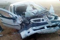 دو نفر در تصادف محور میامی- سبزوار جان باختند
