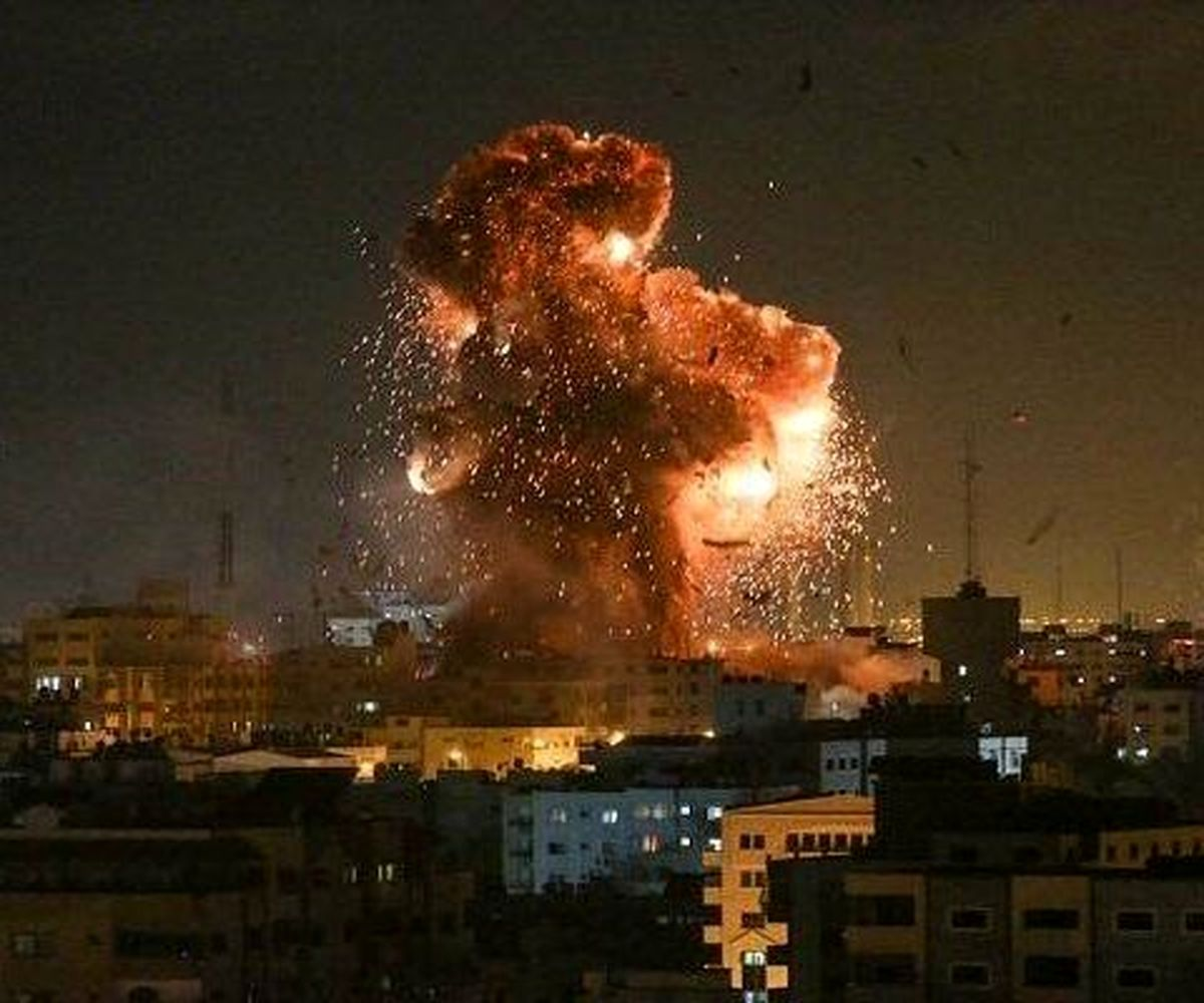 حملات رژیم صهیونیستی به غزه