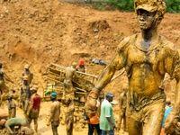 استخراج طلا از معادن طلای غنا +تصاویر