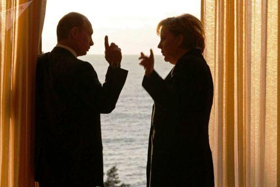 پوتین در تماس با مرکل اتهام غرب علیه سوریه را رد کرد