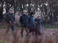 ملکه انگلیس به شکار رفت! +تصاویر