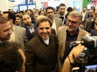 افتتاحیه نمایشگاه حمل و نقل و صنایع سنگین وابسته +تصاویر