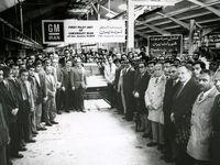 عکسی تاریخی از آغاز رسمی تولید شورولت در ایران