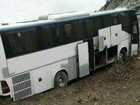 چهار فوتی و مصدوم در حادثه تصادف اتوبوس