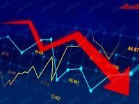 نمای بورس امروز در پایان نیمه اول معاملات/ادامه روند نزولی شاخصها