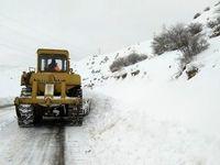 بارش برف و باران در برخی شهرها ادامه دارد