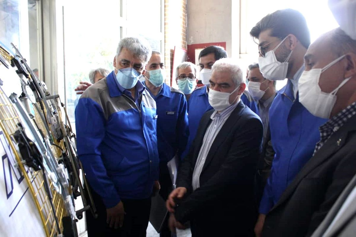 امسال ۵۰هزار دستگاه تارا در ایران خودرو تولید می شود