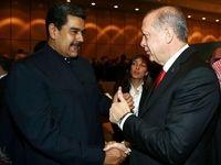 اعلام حمایت اردوغان از مادورو: برادرم کنارت هستیم