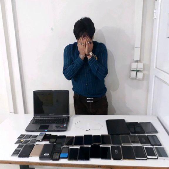 دستگیری 2موبایل قاپ در محدوده شرق تهران