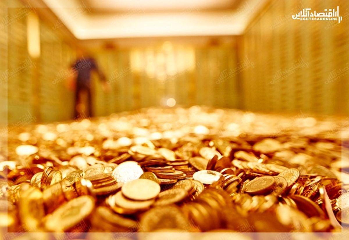 تقاضای سرمایه گذاری برای طلا رکورد زد/ رشد ۴۵۵درصدی فروش سکه طلا در آمریکا