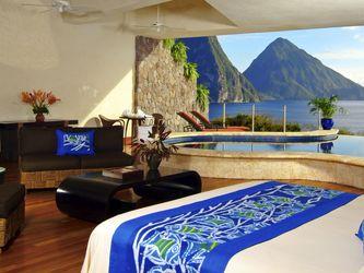 تصاویری از هتلهای لوکس در جزیره کارائیب
