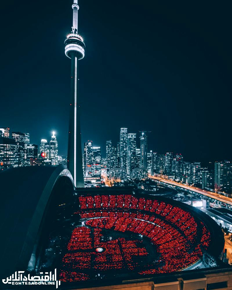 برج تلویزیون تورنتو کانادا