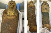 کشف مومیایی سه هزار ساله +عکس