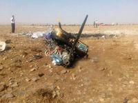 تصاویر اولیه از محل سقوط هواپیما در گرمسار +فیلم