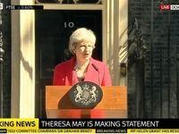 ترزا می از نخستوزیری انگلیس استعفا کرد