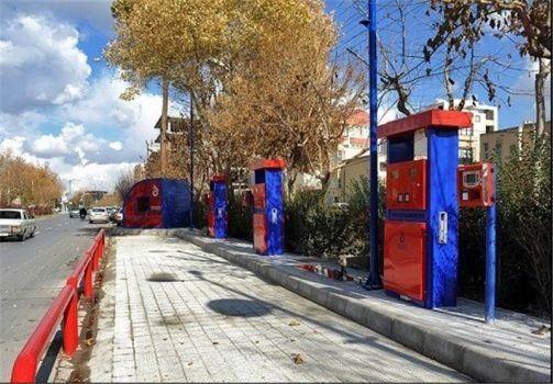 پیادهرو خواری پدیده جدید شهری/احداث جایگاه سوخت در پیادهرو در شهرداری منطقه۲ تهران!
